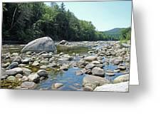 Pemmigewasset River Greeting Card