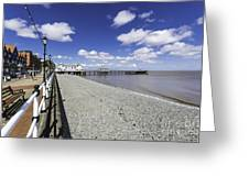 Penarth Pier 4 Greeting Card