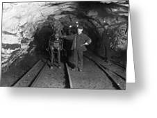 Pennsylvania: Coal Mine Greeting Card
