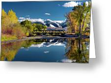 Perfect Autumn Day Greeting Card