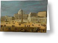 Peters Basilica Greeting Card