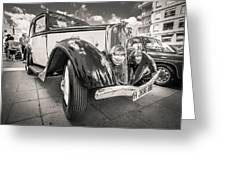 Peugeot 201  Greeting Card by Gary Gillette