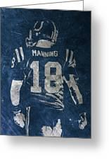 Peyton Manning Colts 2 Greeting Card