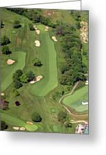 Philadelphia Cricket Club Wissahickon Golf Course 12th Hole Greeting Card