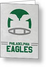 Philadelphia Eagles Vintage Art Greeting Card