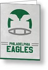 Philadelphia Eagles Vintage Art Greeting Card