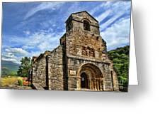 Piasca Iglesia De Santa Maria _img 8461a Greeting Card