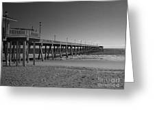 Pier Willmington Nc Greeting Card