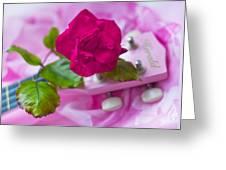 Pink Rose 5 Greeting Card
