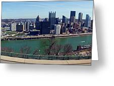 Pittsburgh Panorama Greeting Card