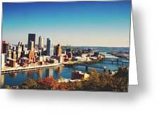 Pittsburgh Skyline Greeting Card