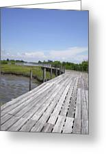 Plank Passage Greeting Card