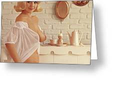 Playboy, Miss August 1962 Greeting Card
