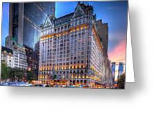 Plaza Hotel Greeting Card