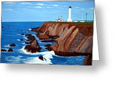 Point Arena Light Station Greeting Card
