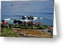 Point Loma Lighthouse 2 Greeting Card