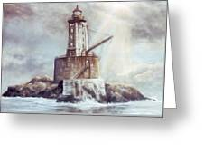 Point St. George Reef Lighthouse Greeting Card