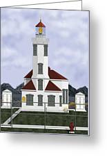 Point Wilson Lighthouse Greeting Card