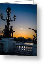 Pont Alexandre IIi Greeting Card