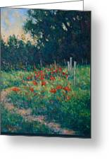 Poppy Garden Greeting Card