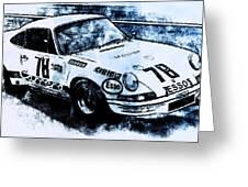 Porsche Carrera Rsr, 1973 - 03 Greeting Card