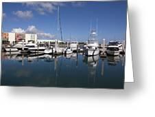 Port Canaveral Florida Usa Greeting Card