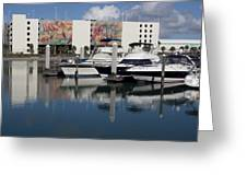Port Canaveral In Florida Usa Greeting Card