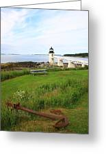 Port Clyde Greeting Card