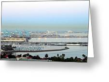 Port Of Los Angeles 0570 Greeting Card