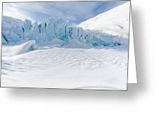 Portage Glacier, Alaska Greeting Card