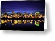 Portland  Oregon Greeting Card