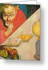Portrait Of Jacob Meyer De Haan Greeting Card