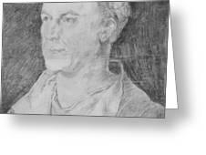 Portrait Of Jakob Fugger  Greeting Card
