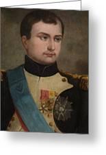 Portrait Of Napoleon Buonaparte Greeting Card