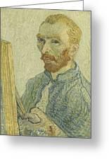 Portrait Of Vincent Van Gogh Greeting Card