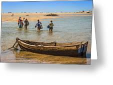 Portugal Algarve Cacela Velha Greeting Card