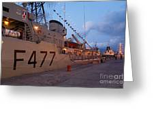 Portuguese Navy Frigates Greeting Card