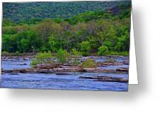Potomac River Near Harpers Ferry Greeting Card
