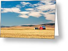 Prairie Red Greeting Card