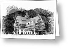 Prince Of Wales Hotel Greeting Card