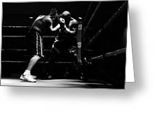 Prize Fighters Greeting Card
