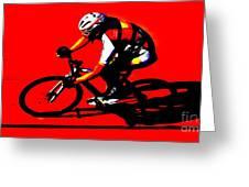 Pro Cycling Greeting Card