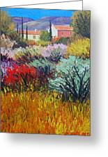 Provence In Bloom Greeting Card