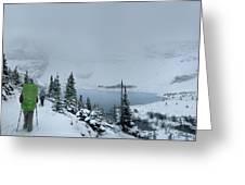 Ptarmigan Lake - Glacier National Park Greeting Card