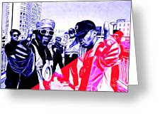 Public Enemy Collection Greeting Card