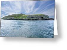 Puffin Island Greeting Card