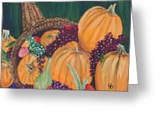 Pumpkin Plenty Greeting Card