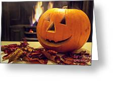 Pumpkin Greeting Card