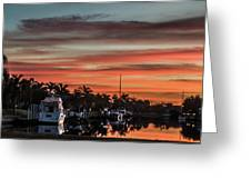 Punta Gorda From Bal Harbor Greeting Card