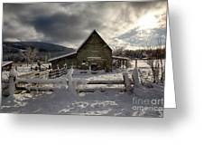 Purcell Barn Greeting Card